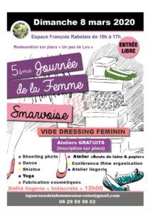 Journée de la femme Smarvoise 2020 @ Espace rabelais | Smarves | Nouvelle-Aquitaine | France