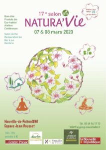 Salon Natura'Vie 2020 @ Espace Jean Dousset | Neuville-de-Poitou | Nouvelle-Aquitaine | France